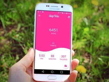 StepWin Android Application
