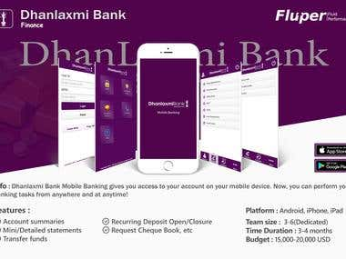 Dhanlaxmi Bank - Mobile Banking
