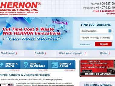 Hernon Manufacturing Solutions in ASP.Net