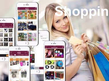 Online Shopping App(iPhone,iOS app)