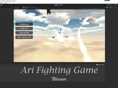 Unity3d Air Fighting game