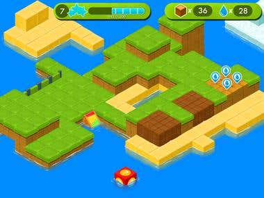 Game Disign : Texture mapping (Isometric View)