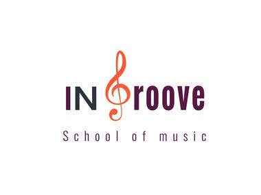 logo for music school