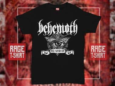 Behemoth (T- Shirt Design)