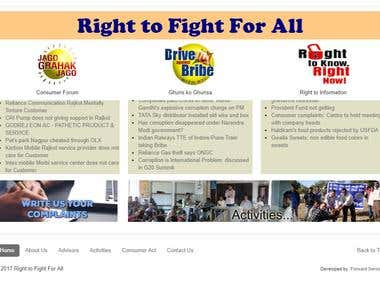Right To Fight for all