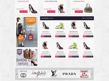 Shoes Eshop Magento Ecommerce