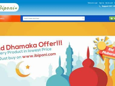 E-commerce portal : IBiponi
