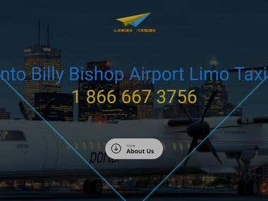 Toronto Billy Bishop Airport Limo Taxi Services