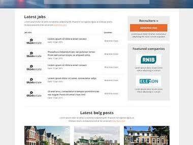 Job Portal Website Design and Development
