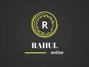 The Rahul Online Logo