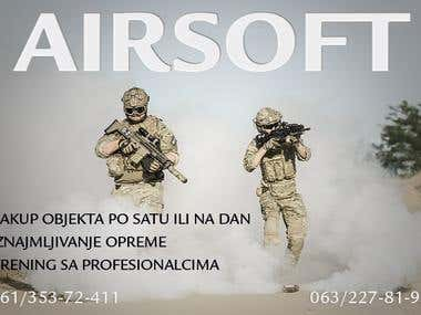 Air-soft Store Flyer