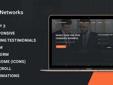 Tri Network Theme For Envato