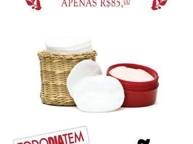 Cartaz para Promoção da Limpeza de cara