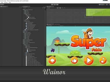Unity 2d Super Mario