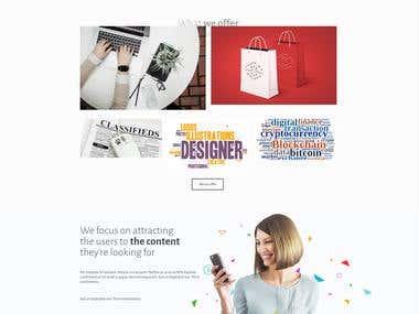 multipurpose website development