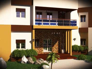 5 Bedroom Duplex Exterior