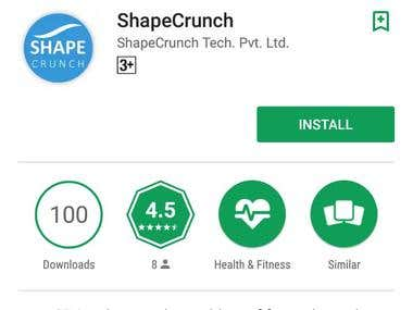 ShapeCrunch - Android App Testing
