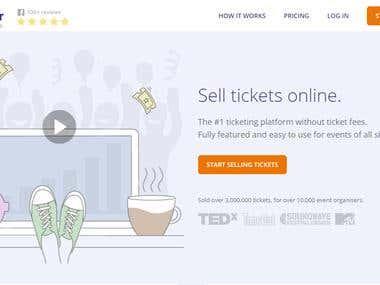 Ticket Tailor - Website Testing