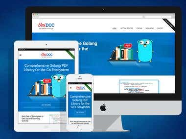 Unidoc Responsive Website
