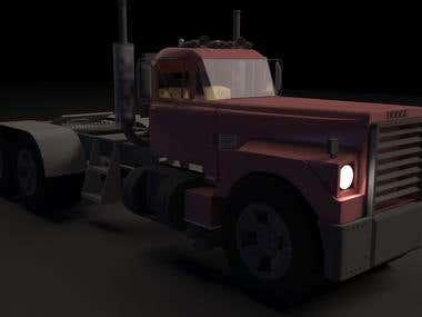 3D Truck modeling