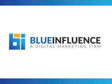BlueInfluence - LOGO DESIGN