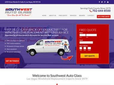 Southwest Auto Glass Website