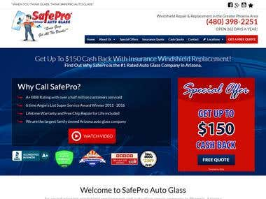 SafeProAutoGlass Website