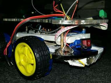 Mobile Controlled Robot through Voice Call