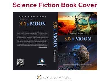 Science Fiction Book Cover Design