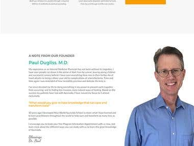 Medical Website Design and Development