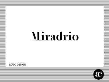 Miradrio Logo design
