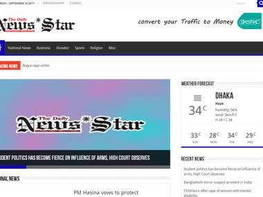 News portal : Daily News Star