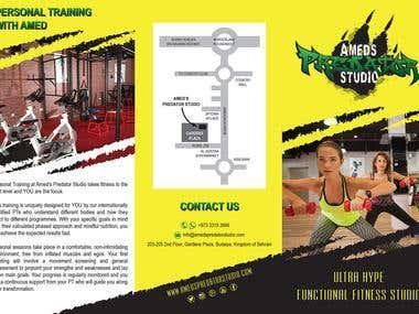 Brochure design - APS