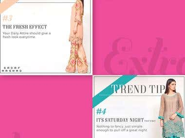 Magazine Ad (Fashion design)