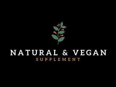 The Natural & Vegan Logo