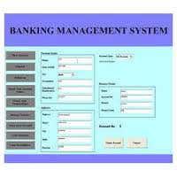 bank managements system