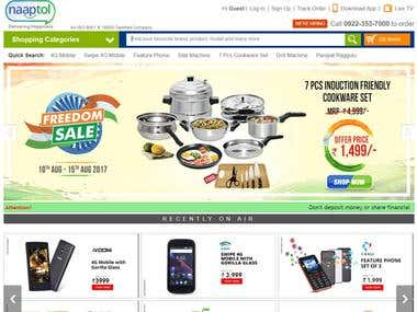 Naaptol is India's leading home shopping company