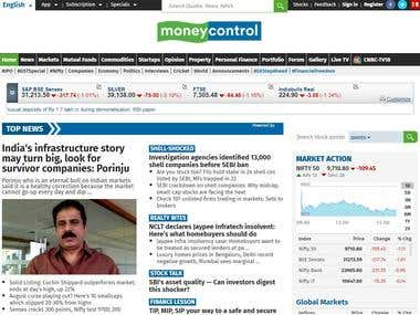 Moneycontrol - Stock/Share Market Investing - Live BSE/NSE,