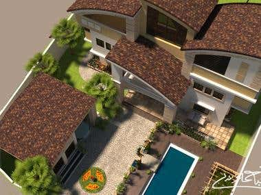 Villa Design and landscape