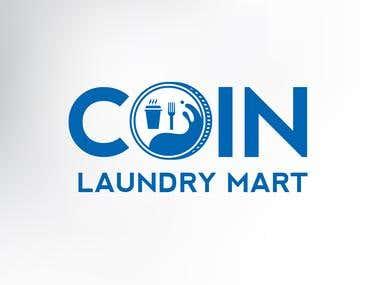 Coin Laundry Mart Logo