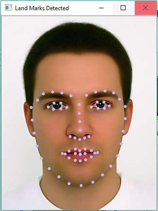 Facial Land Mark Detection and Face Morphing