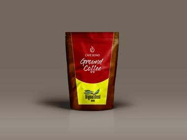 Winning entry for Cafe Bono Coffee Packaging