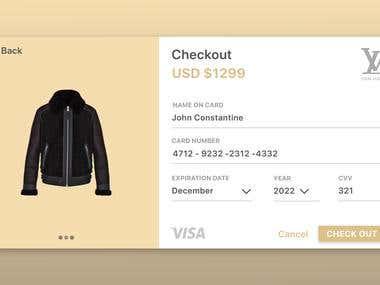 Checkout Design