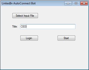 LinkedIn AutoConnect Bot