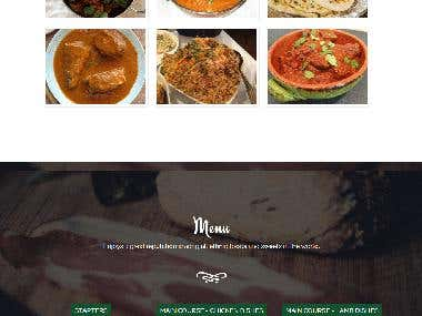 Shalimar Curries | Wordpress