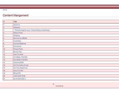 Regular Maintenance of E-Commerce Website