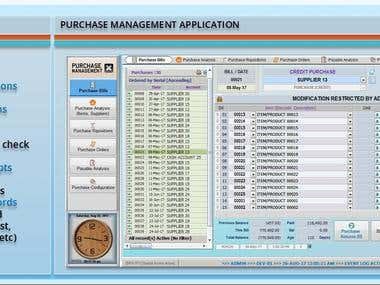 MS Access/,MS Excel/VBA Applications (Screenshots)