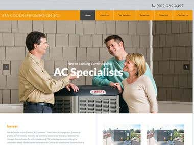STA Cool Refrigeration Website