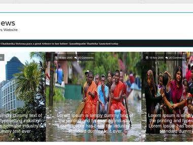 News Webiste
