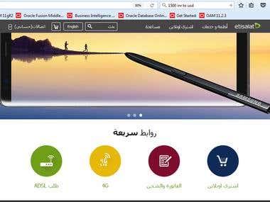 Etisalat Egypt - Portal Revamp